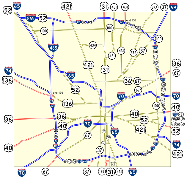 List of Interstate Highways in Indiana Indiana Road Map With Mile Markers on mississippi river navigation mile markers, united states river maps with mile markers, tennessee river mile markers, indiana road map with cities, indiana state map counties roads, indiana road maps atlas, indiana toll gate map, interstate 40 tennessee mile markers, indiana road conditions, indiana roads under construction, indiana road map with exit numbers, indiana street map, colorado state highway mile markers, indiana interstate 90 exits, montana state map including mile post markers, interstate maps with mile markers,
